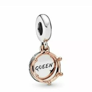 Pandora Queen and Regal Crown dangle charm.
